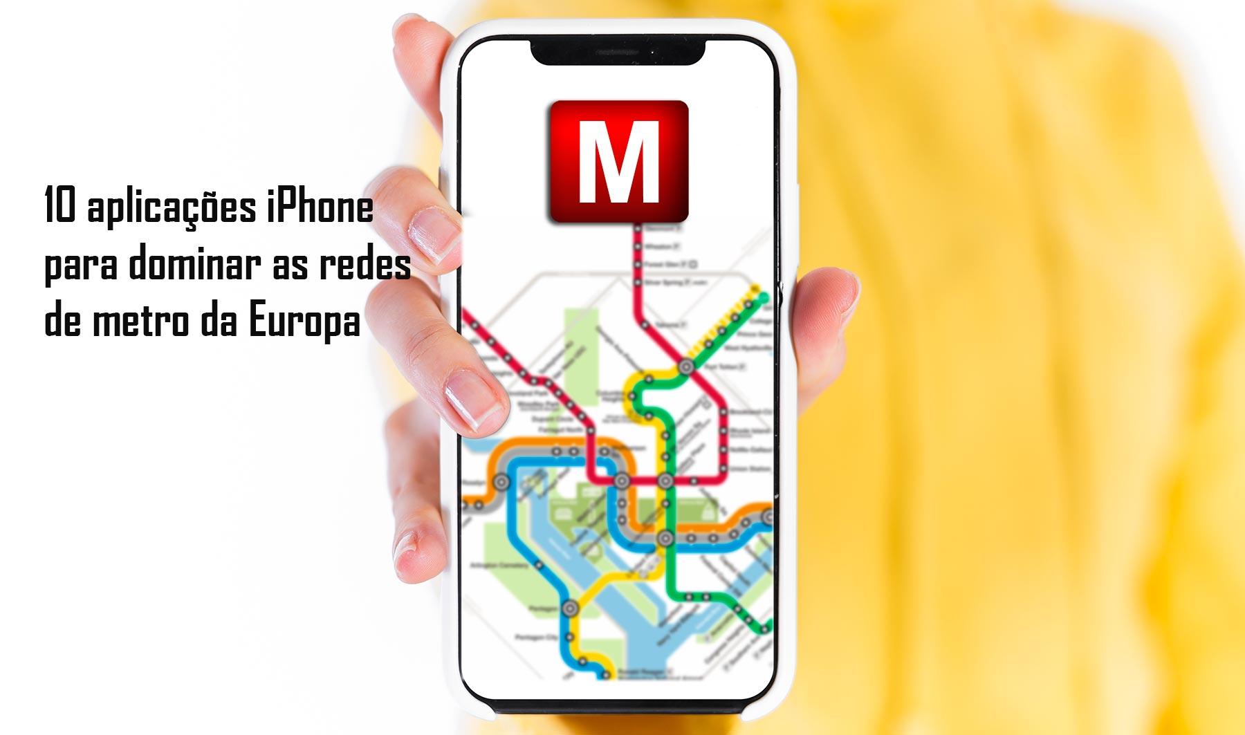 Apps Redes de Metro da Europa