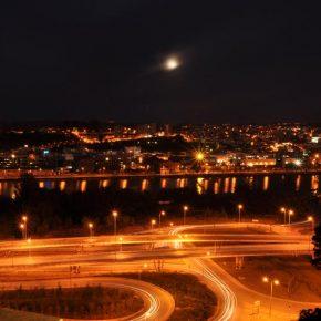 Coimbra Vista Noturna