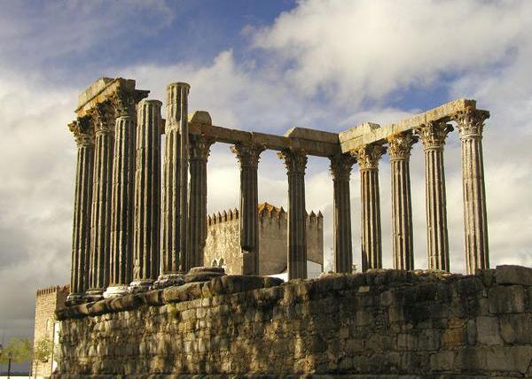 Évora Templo de Diana